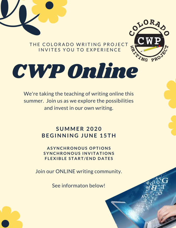 CWP Online Flyer - summer 2020 website